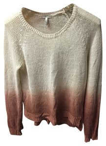 Joie Lightweight Casual Beige Pinkish-tan Sweater