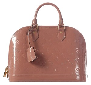Louis Vuitton Lv.j1106.03 Rose Vernis Alma Satchel