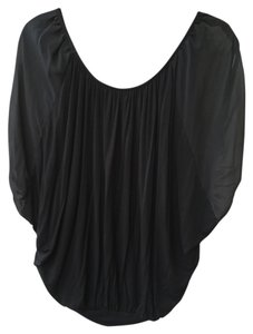 Wilster Flow Flowing Flowey Flowy Top Black