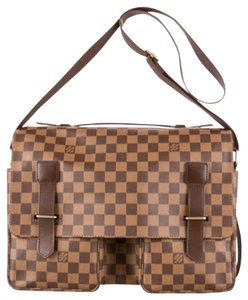 Louis Vuitton Messenger Damier Canvas Monogram Brown Messenger Bag