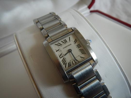 Cartier Cartier Tank Francaise Stainless Steel Bracelet Watch, Small