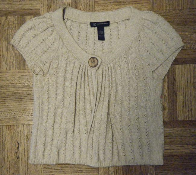 INC International Concepts Cap Sleeves Sweater