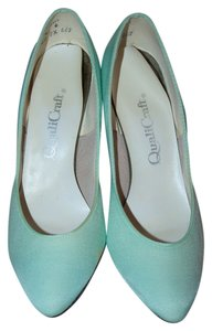 Qualicraft Wedding Aqua Robins egg blue Pumps