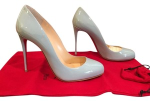 Christian Louboutin Heels Leather Wedding Blue Pumps