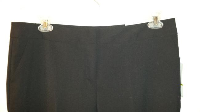 Laundry by Shelli Segal Business Casual Flare Pants Black