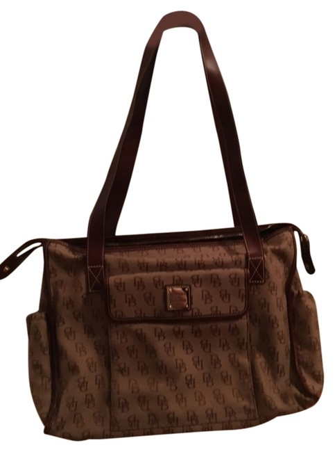 Item - Signature Anniversary Collection 2008 Brown Canvas W/Leather Trim Diaper Bag