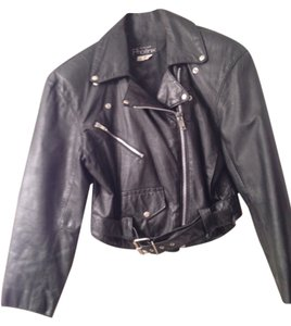 Phoenix USA Vintage Leather Motorcycle Jacket