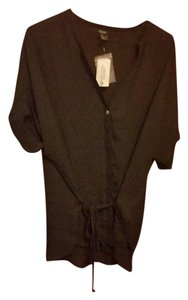 Forever 21 Blouse Button Down Shirt black