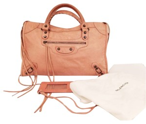 Balenciaga Satchel in Rose Pink