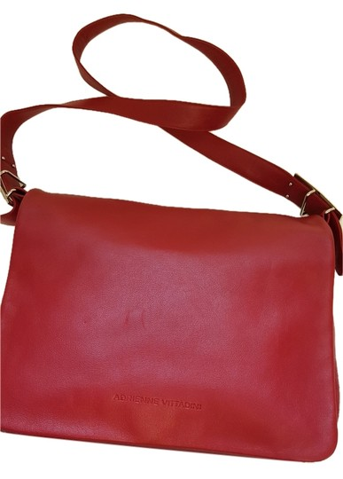 Preload https://item1.tradesy.com/images/adrienne-vittadini-red-leather-cross-body-bag-9920425-0-1.jpg?width=440&height=440