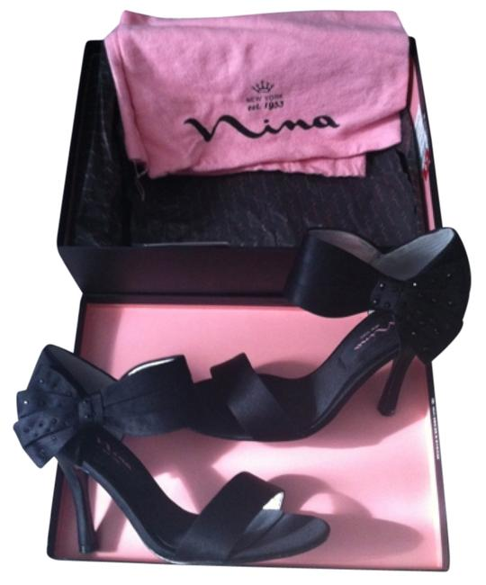 Nina Black Clova-ls Formal Shoes Size US 6.5 Regular (M, B) Nina Black Clova-ls Formal Shoes Size US 6.5 Regular (M, B) Image 1