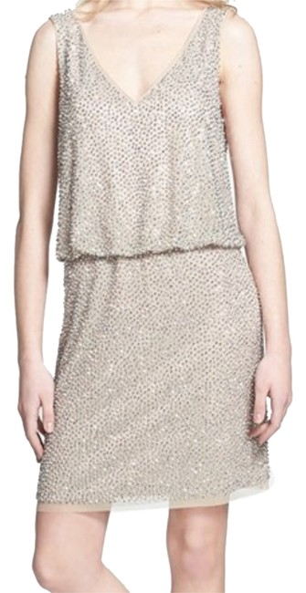 Preload https://img-static.tradesy.com/item/9920524/xscape-blush-above-knee-cocktail-dress-size-12-l-0-1-650-650.jpg