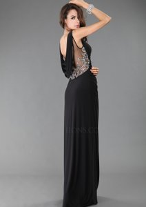 Black Full Figure Hy0643 Dress