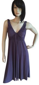 eggplant Maxi Dress by BCBG Paris