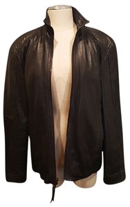 Marc New York Fit Mens Leather Leather Jacket