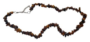 Other Tiger's Eye Stone Necklace N096