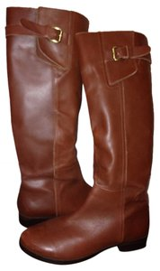 INC International Concepts Riding Tall Brown Boots