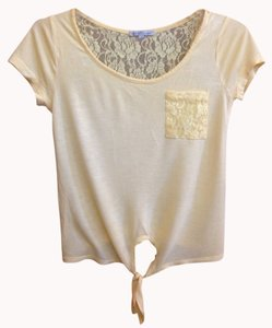 Charlotte Russe Top Yellow