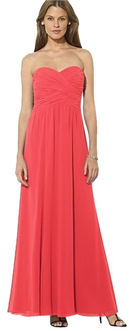 Preload https://img-static.tradesy.com/item/992368/ralph-lauren-tropic-pink-cocktail-long-formal-dress-size-10-m-0-0-650-650.jpg