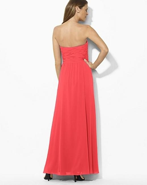 Ralph Lauren Empire Waist Flowy Sweetheart Dress