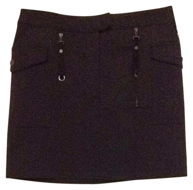 Versace Mini Skirt Dark Gray