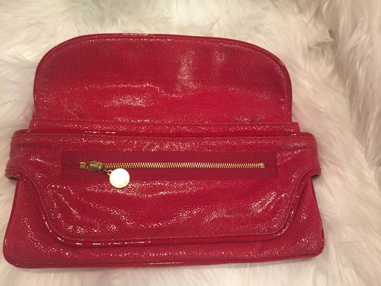 Stella McCartney Appaloosa Red Clutch