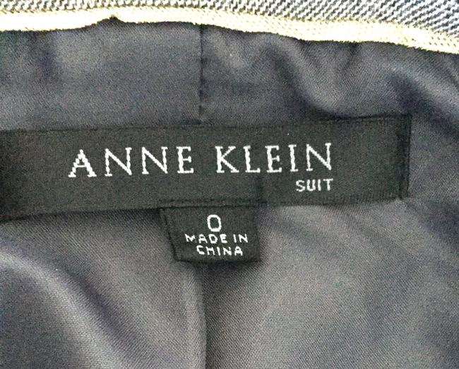 Anne Klein Suit Office Business Gray Jacket