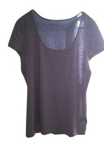 Kenneth Cole T Shirt Silver/Grey