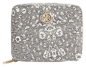 Tory Burch Tory,Burch,Lizard,Print,Pebbled,Leather,Jewelry,Case
