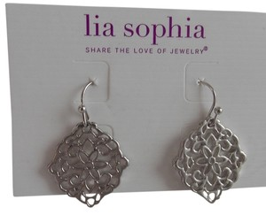 Lia Sophia Lia Sopha Dairy Earrings in Matte Silver