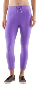 Lululemon Lulu Leggings Skinny Active Capris Purple
