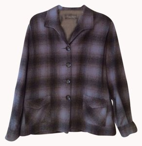 Other Black, Gray, White, Lite And Dark Blues Jacket