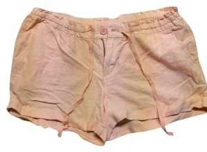 Old Navy Cuffed Shorts Peach