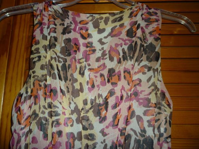 American Rag Crisscross Animal Print Dress