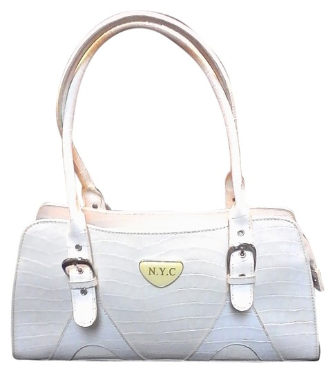 Preload https://item2.tradesy.com/images/new-york-and-company-nyc-white-and-bone-leather-baguette-9931066-0-1.jpg?width=440&height=440