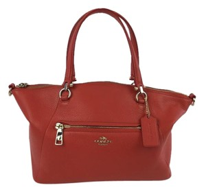 Coach Satchel in Persimmon