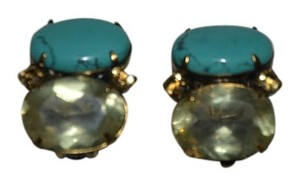 iRADJ Moini NEW SIGNED IRADJ MOINI TURQUOISE CITRINE EARRINGS