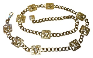 Anne Klein lions head chain