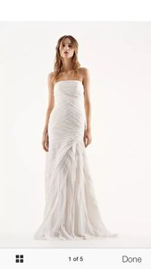 White By Vera Wang Vw351146 Wedding Dress