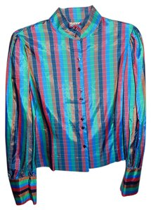 Diane von Furstenberg Vintage Top Multi-Color