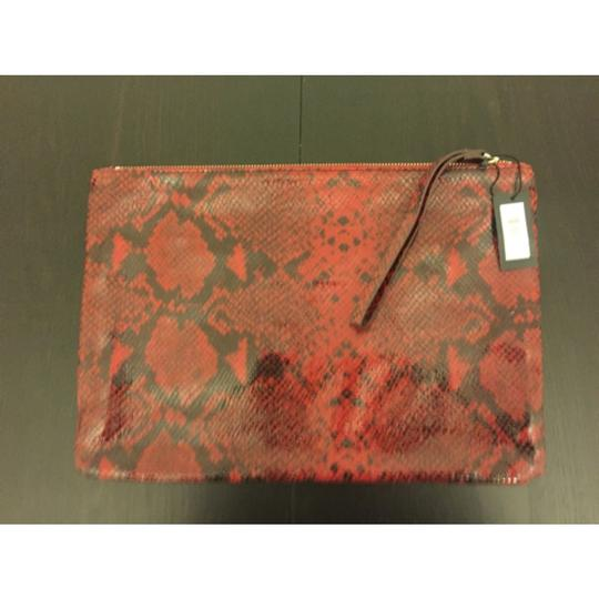Banana Republic Black And Red Clutch