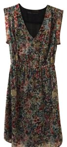 Zara short dress Floral on Tradesy