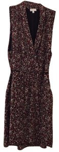Aritzia by wilfred 100% silk. short dress Red floral pattern on Tradesy