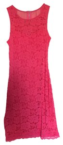 Express Lace Zipper Dress