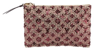 Louis Vuitton Sunshine Express Runway Burgundy Clutch