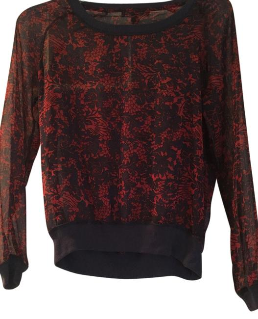 Preload https://img-static.tradesy.com/item/9933493/navy-and-red-sheer-casual-crew-neck-blouse-size-0-xs-0-1-650-650.jpg