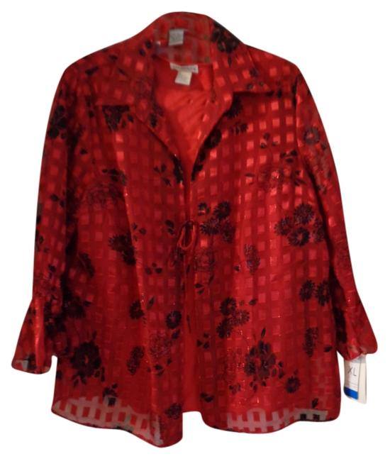 Preload https://item3.tradesy.com/images/notations-blouse-red-black-top-9933817-0-1.jpg?width=400&height=650