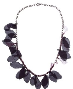 Lanvin Lanvin Silk and Amethyst Necklace