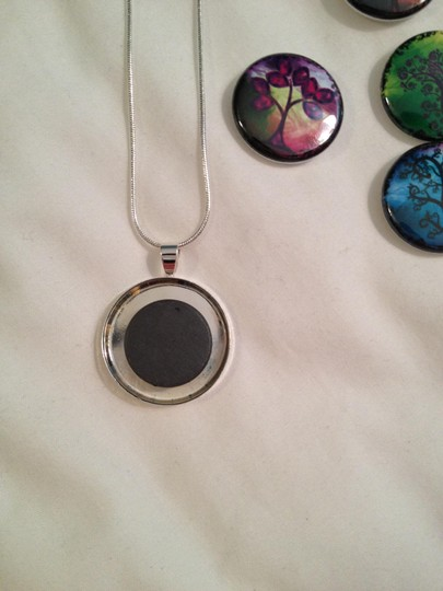 Other Interchangeable Button Topper Necklace