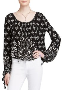 Free People Keyhole Top Black